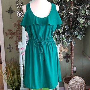 Charming Charlie Racerback dress | green | Small